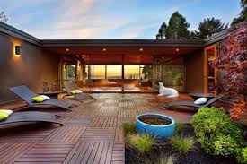 15 enchanting mid century modern deck designs your outdoor areas