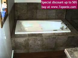 surround granite tiled bathtub shower wall enclosure 3 piece fast