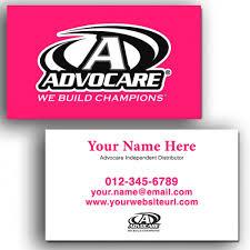 Biz Card Template Beautiful Advocare Business Card Template Df0l4 Dayanayfreddy