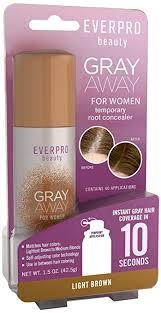 low lighted hair for women in the 40 s 50 s buy gray away women s hair highlighter light brown 1 5 ounce