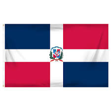Poly Flag Dominican Republic 3ft X 5ft Printed Polyester Flag