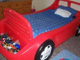 little tikes red race car bed asking 150 moorestown nj patch