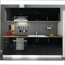 cuisine noir laqué cuisine noir laque pas cher meuble de cuisine noir laquac pas cher