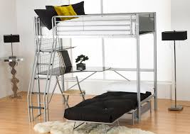Loft Bed With Futon And Desk Excellent Loft Bed With Futon Underneath Bed Design Ideas