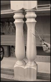 wooden legs for kitchen islands century porch post inc wooden posts