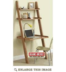 Leaning Bookcase Woodworking Plans by Knockdown Wall Desk Great For A Small College Bedroom