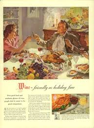 vintage ad archive the drinks of thanksgiving the