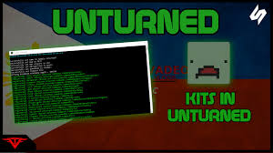 how to make kits for unturned servers