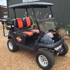 custom harley davidson club car southeastern carts