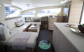 Power Boat Interiors X5 Sail The 50 U0027 Luxury Sailing Catamaran Has Launched Xquisite