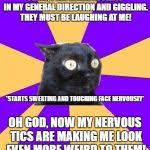 Anxiety Cat Meme - anxiety cat meme generator imgflip