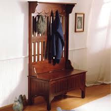 Front Hall Bench by Entry Hall Tree Coat Rack Storage Bench Seat Tradingbasis