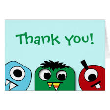 kids thank you cards thank you note cards zazzle
