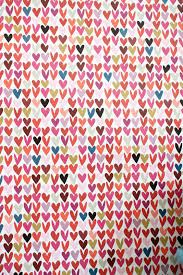heart wrapping paper hearts