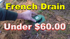 do it yourself french drain under 60 00 youtube