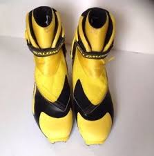 s xc boots salomon rs9 rs 9 sns pilot skate skiing boots xc cross country ski