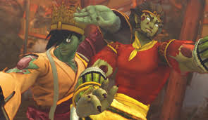 Street Fighter Halloween Costumes Sun Wukong Yun Undead Priest Ultra Street Fighter 4