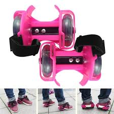 roller skates with flashing lights 3 colors light flashing roller small whirlwind pulley adjustable