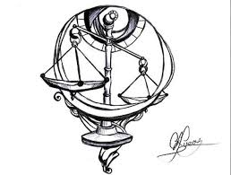 libra scales page tattoos libra scale