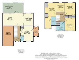 Conservatory Floor Plans Malvern Court Addington Road Reading 4 Bed Detached House 549 950