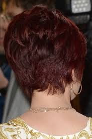 back view of sharon osbourne haircut sharon osbourne in 20th annual race to erase ms gala love to