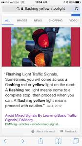 A Flashing Yellow Signal Light Means Ethan Knight Ethangknight Twitter
