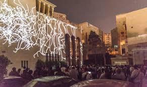 alexandria festival of lights in photos backstreet festival kicks off in alexandria stage