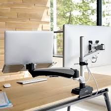 Laptop Desk Arm Monitor Arm Laptop Cradle For Desks Laptop Stands Varidesk
