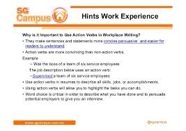 Use Action Verbs Resume by How To Create A Successful Resume