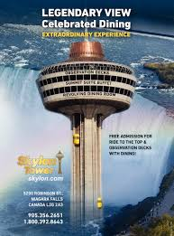 Skylon Tower Revolving Dining Room Legendary View Skylon Tower