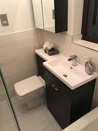 Combination Vanity Units For Bathrooms by Ellie U0027s Monochrome Bathroom Customer Bathrooms Victorian Plumbing