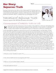 african american history month activities sojourner truth