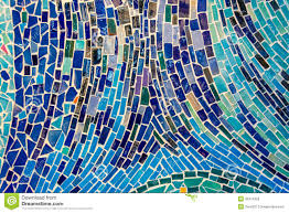 abstract wall abstract wall decorated of colorful tile texture stock image