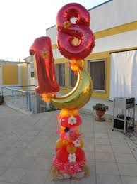 16 best balloon numbers images on pinterest balloon ideas