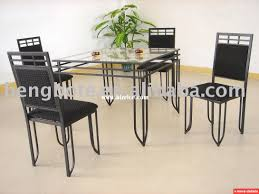 metal table and chairs modern chairs design