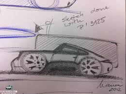 porsche mission e sketch michael mauer archives flatsixes