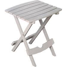 Outdoor Folding Side Table Ozark Trail Quik Fold Side Table Desert Clay Walmart