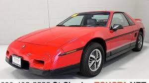 1986 pontiac fiero se for sale near saint charles illinois 60174