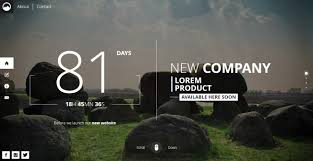 html layout under timex creative template for coming soon page by mivfx themeforest