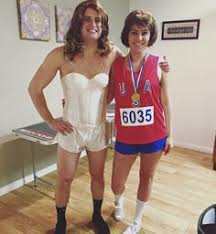 Hysterical Halloween Costumes Funny Lady Alert Button Couple Costume Alert