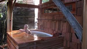 Wood Heated Bathtub Japanesebathhouse