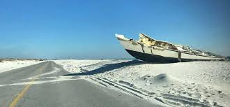 ghost ship u201d washes up at fort pickens the pulse