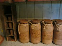 primitive kitchen canisters 1042 best canisters images on vintage kitchen