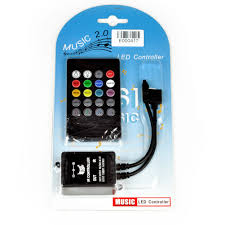 Led Light Strip Controllers by R1 20 Key Ir Sound Sensor Music Remote Controller For 3528 5050