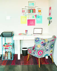 pop of color home office ideas play party plan