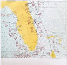 Florida Gulf Beaches Map by Gulf And Florida Ship Wrecks