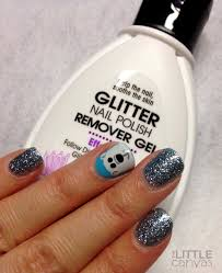 glitter nail polish remover gel review the little canvas