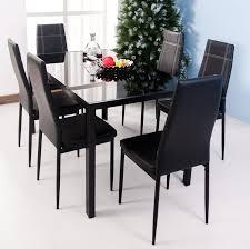 merax 7 piece dining set u0026 reviews wayfair