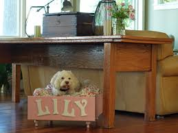 dog beds made out of end tables radiant diy dog bed projects diy cat houses that are meow to