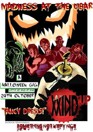 halloween band poster by tom inad ous on deviantart
